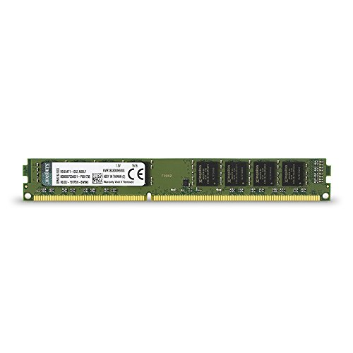 Kingston Technology ValueRAM 8GB 1333MHz DDR3 Non-ECC CL9 DIMM Desktop Memory 8 (PC3 10600) KVR1333D3N9/8G]()