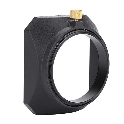 Acouto 49mm Universal Square Lens Hood Sete for DV Camcorder Digital Video Camera Lens Filter or Barrel Thread
