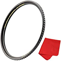49mm X4 UV Filter For Camera Lenses - UV Protection Photography Filter with Lens Cloth - MRC16, SCHOTT B270, Nano Coatings, Ultra-Slim, Weather-Sealed by Breakthrough Photography