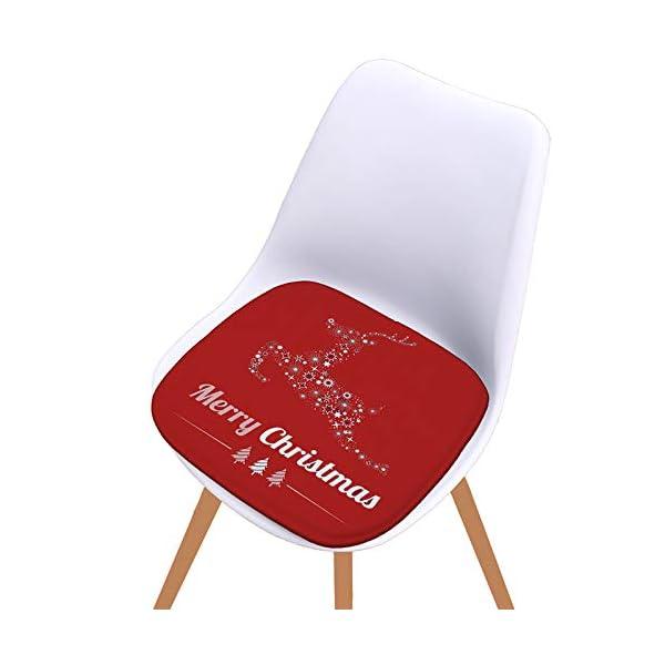 Fablcrew Cuscini per sedie, Morbido Cuscino per Sedia Cuscino Sedia Cucina da Giardino, per Cuscino Auto, Cuscino per… 5 spesavip