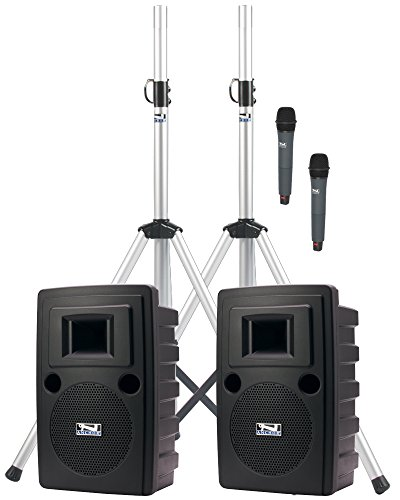 Anchor Audio Liberty Deluxe AIR Dual Package with Wireless AIR Companion Speaker and Two Wireless Microphones