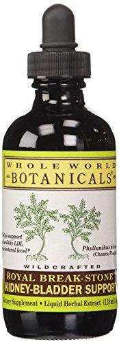 (Whole World Botanicals Royal Break-Stone Kidney-Bladder Support 4 oz 118 ml)