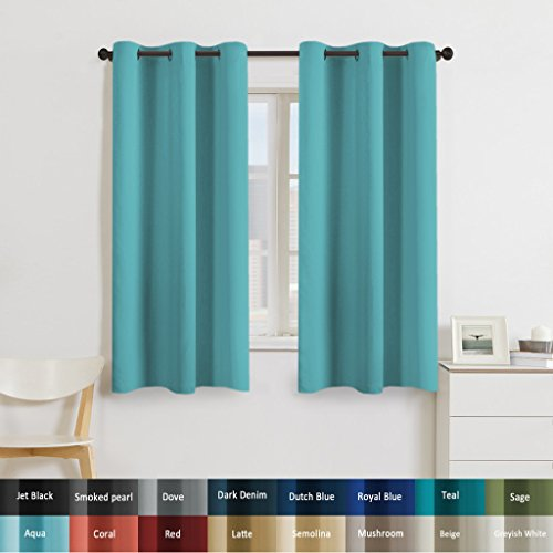 Turquoize Blackout Darkening Insulated Curtains product image