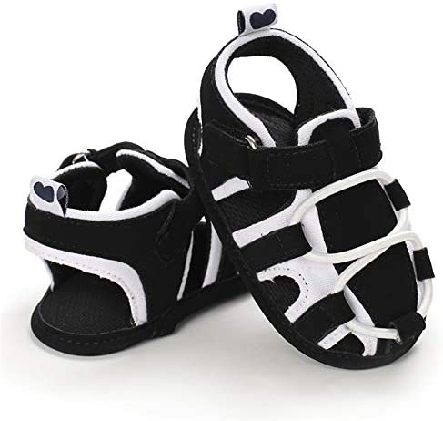 41Dy nwDTkL. AC - TIMATEGO Infant Baby Boys Girls Summer Sandals Soft Sole Anti-Slip Newborn Toddler First Walkers Crib Athletic Shoes(0-18 Months)