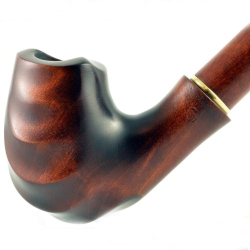"7.1"" Long Handmade pear smoking pipe for 9mm filter 
