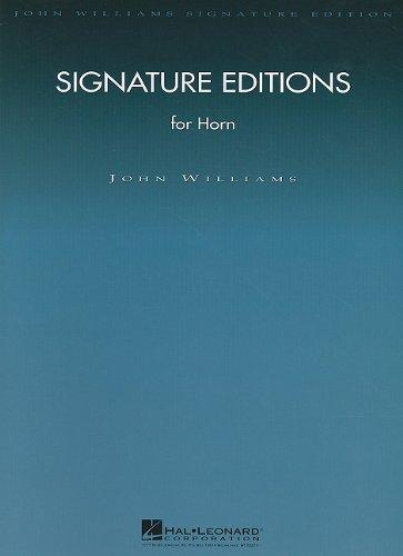 (Signature Editions for Horn (John Williams Signature Editions))
