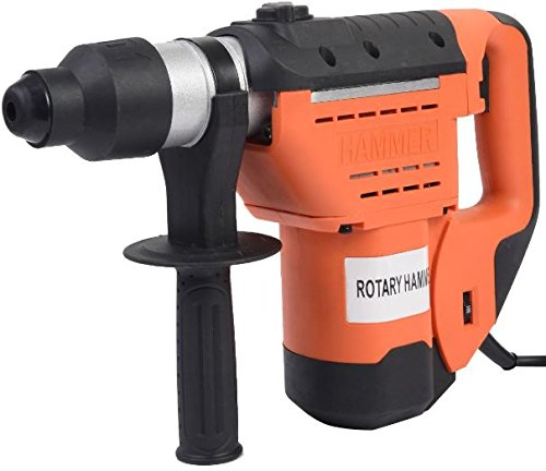 K&A Company SDS Electric Rotary Hammer Drill Plus Demolition Bits Variable Speed New 1-1/2''