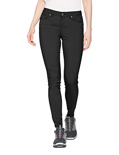 prAna Women's Standard Briann Pant, Black, 12 Regular Inseam