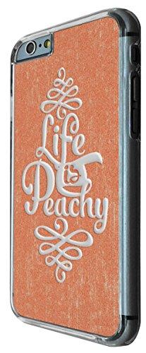 702 - Life is Peachy Design iphone 6 6S 4.7'' Coque Fashion Trend Case Coque Protection Cover plastique et métal