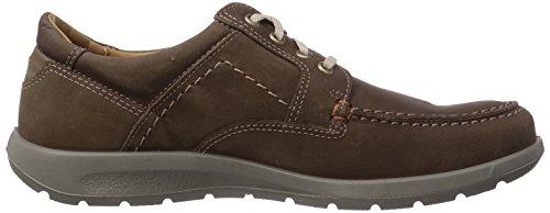 Jomos Sprint - zapato oxford de cuero hombre marrón - Braun (choco/asphalt)