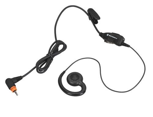 (PMLN7189A PMLN7189 - Motorola Swivel Earpiece with in-line microphone and push-to-talk)