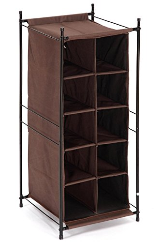 Space-Efficient Shoe Cubby Organizer