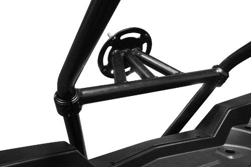 Dragonfire Racing Spare Tire Carrier Black for Pol RZR 800 S/4 RZR XP/4 900 All