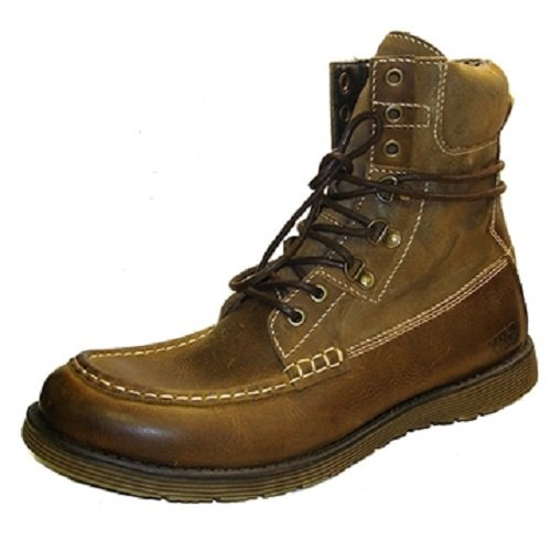 GBX MOC VAMP GUARDIAN BOOT Tan Suede & Leather Size 12D