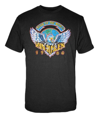 Men's Van Halen 1984 Tour Of The World T-shirt