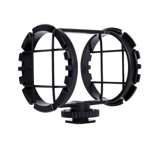Movo SMM2 Camera Shoe Shockmount for Shotgun Microphones 1
