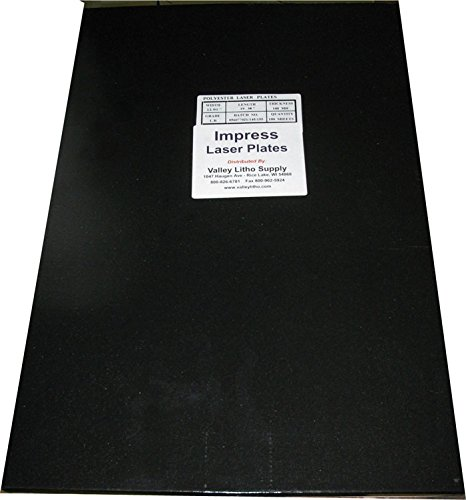 Impress Polyester Laser Offset Printing Plates 12'' x 19-3/8'' - 100 Pack - All Sizes Available by Impress