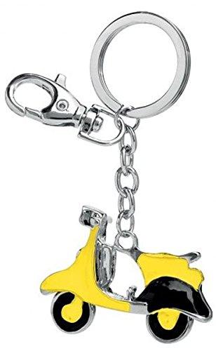 Ten Llavero Vespa amarilo y Negro cod.EL3054 cm 8,5x5,5x1h ...