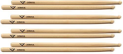 - Vater Hickory Drumstick Prepack - Fatback 3A - Wood Tip
