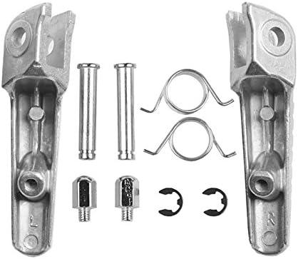 XFMT Front Footrest Pedals Foot Pegs For Honda CBR1000RR CBR1000 RR CB1000R CBR600RR