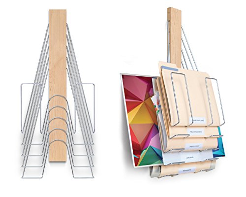 Up Filer Mini, Wall File, 5 Hangers/Pockets. Allows for Letter/Legal/Oversized by Up Filer