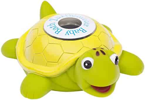 Ozeri Turtlemeter The Baby Bath Floating Turtle Toy and Bath Tub Thermometer