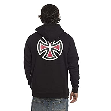 Sudadera con capucha Independent Bar Cross Negro: Amazon.es: Ropa y accesorios