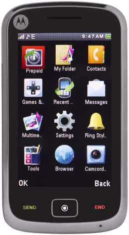 Motorola EX124G Prepaid Phone (Net10)