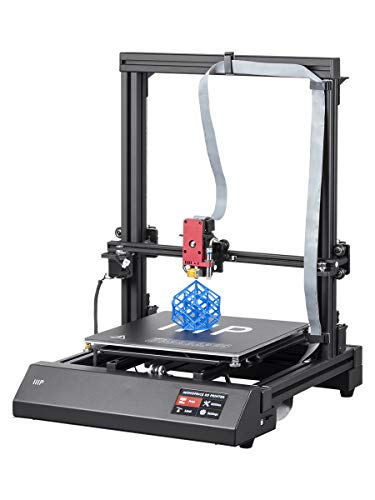 Monoprice Maker Pro Mk.1 3D Printer With Extra Large Heated (300 x 300 x 400 mm) Build Plate, Auto Level Bed And Touch screen Display + Free MicroSD Card Preloaded ()