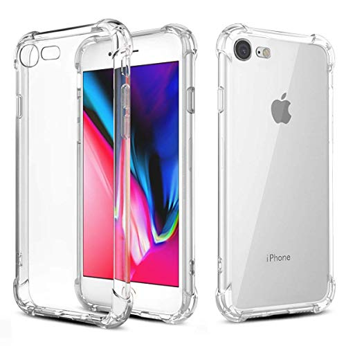 Phone Case Phone 8 Phone 7, Ultra Thin Clear Soft TPU Cases