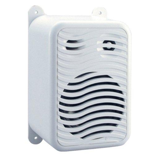 PolyPlanar Dual Gunwale Marine Boat Mount Speakers White (Poly Planar Dual Speaker)