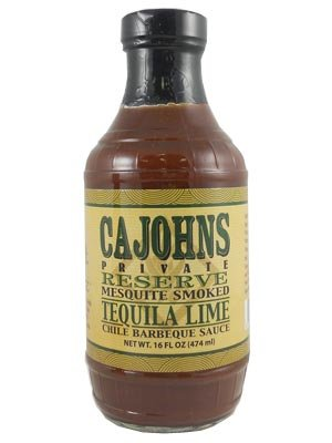 - CaJohn's Mesquite Tequila Lime BBQ Sauce