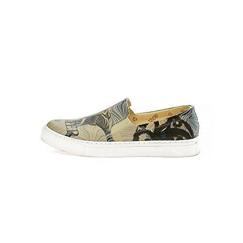 Serie UK Winter vor Goby aus Leder on Obermaterial Vn4036 Slip der Tür Damen VN4000 Schuhe Sneakers steht Der SqOvxq