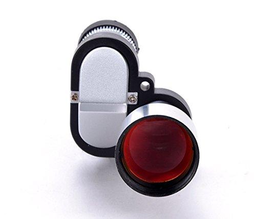 Telescopiomonocular-All4you8 x 20bolsilloMiniTelescopioMonocularMetalplataocular96M/1000M(Silver)