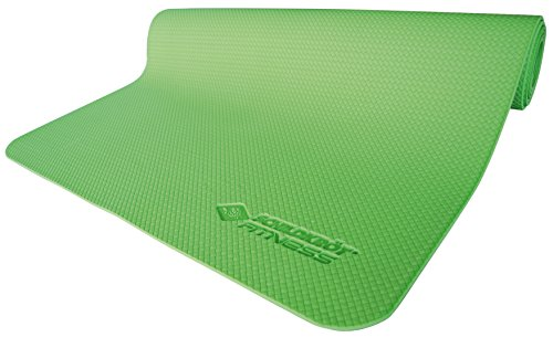 Schildkr?t Fitness 960059 Yoga Mat in Carry Bag Lime Green 4 mm by Schildkr?t Fitness