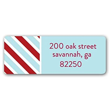 amazon com air mail red address labels health personal care