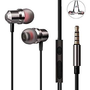 Auriculares In-Ear Cancelación de Ruido Auriculares con Microfono ...