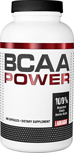 Labrada Nutrition BCAA Power Capsules, 400 Count