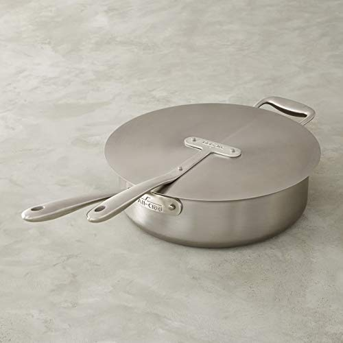 All-Clad TK Copper Core 5-qt Sautéuse with Universal Lid