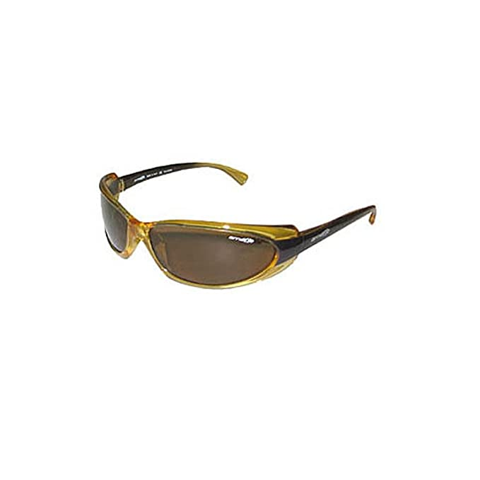 a816f2b4e3 Arnette Polarized Shaft Sunglasses Italy AN4022 201 83 Yellow AUTHORIZED  DEALER