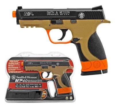 Palco Sports Smith&Wesson M&P40 CO2 Airsoft NBB Pistol Two-Tone California Compliant