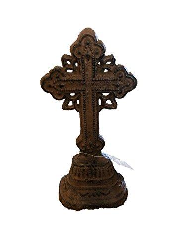 Cast Iron Rustic Tabletop Cross
