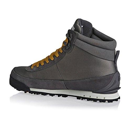 The North Face W Back-2-Berk Boot 2, Zapatillas de Senderismo para Mujer Gris (Dark Gull Gr/Windchime Gr)