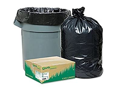 Commercial Trash Can Bags Heavy Garbage Duty Yard EarthSense, 80 Large 33 Gallon- New!!!