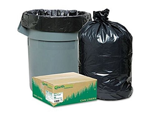 Commercial Trash Can Bags Heavy Garbage  - Black Recycled Plastic Hopper Shopping Results