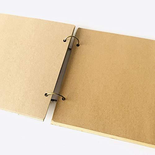 r/ústica decoraci/ón de la Boda Nombre de Encargo Firme el Libro AYRSJCL 40 P/áginas Boda Libro /Única Alternativa Guirnalda de la Boda Libro de visitas