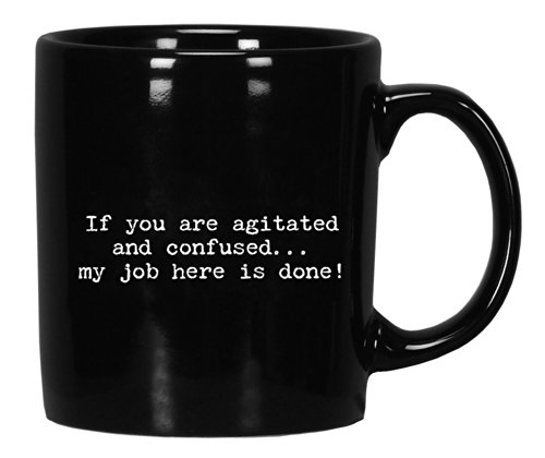Trash Black Coffee agitated confused product image