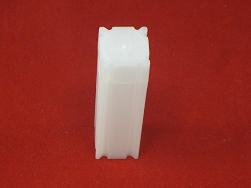UPC 701622756992, (10) Coinsafe Brand Square White Plastic (Penny Cent) Size Coin Storage Tube Holders