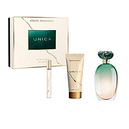 Adolfo Dominguez Adolfo Dominguez Unica Eau de Toilette-Set para Mujer 3PCS