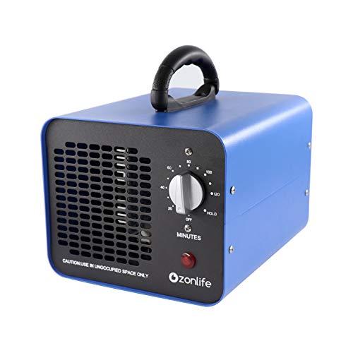 🥇 Generador de ozono comercial 10000 mg/H Purificador de Aire Desodorizador de ozono para Habitaciones